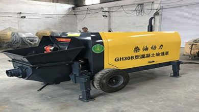 Photo of Comparison Between A Concrete Line Pump And Concrete Boom Pump