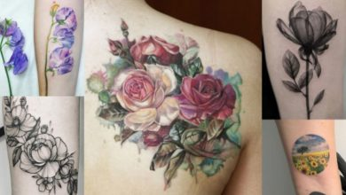 Photo of Flower Tattoos And Their Deep Meanings