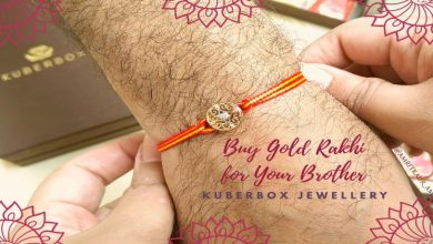 Photo of Popular Gold Rakhi Designs for Brother