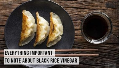 Photo of Everything Important To Note About Black Rice Vinegar